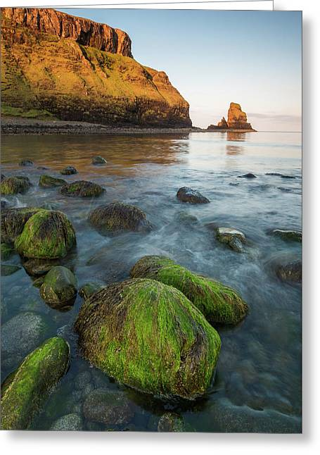 Talisker Beach Sunrise Greeting Card by Davorin Mance