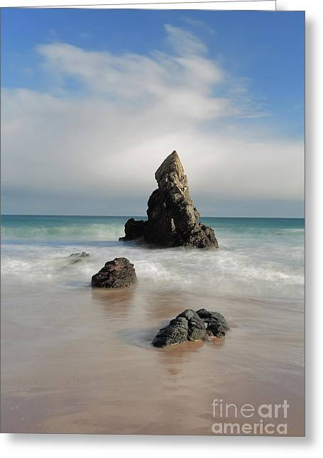 Tall And Proud On Sango Bay Greeting Card