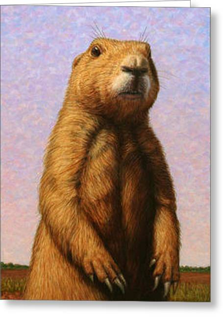Tall Prairie Dog Greeting Card