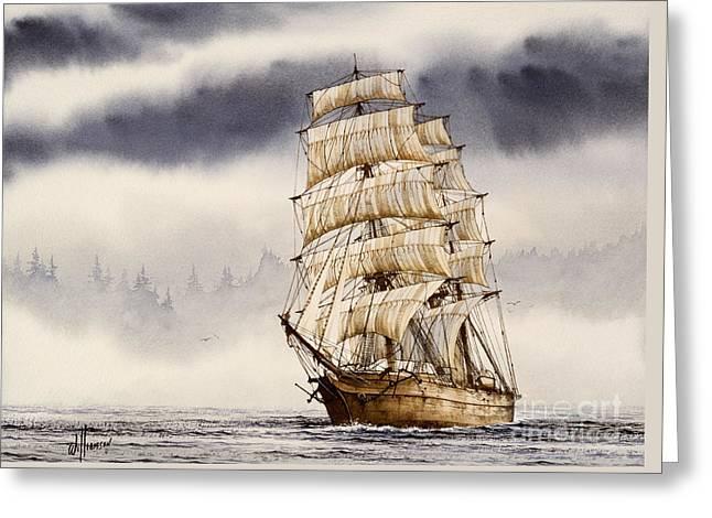 Tall Ship Adventure Greeting Card