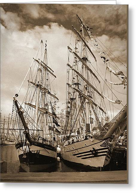 Tall Ships 2010 Greeting Card