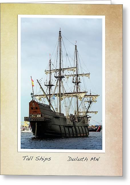 Tall Ships V2 Greeting Card