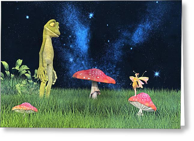 Tall Tales Greeting Card by Betsy Knapp