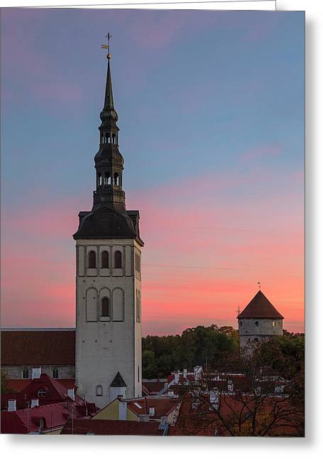 Tallinn 05 Greeting Card