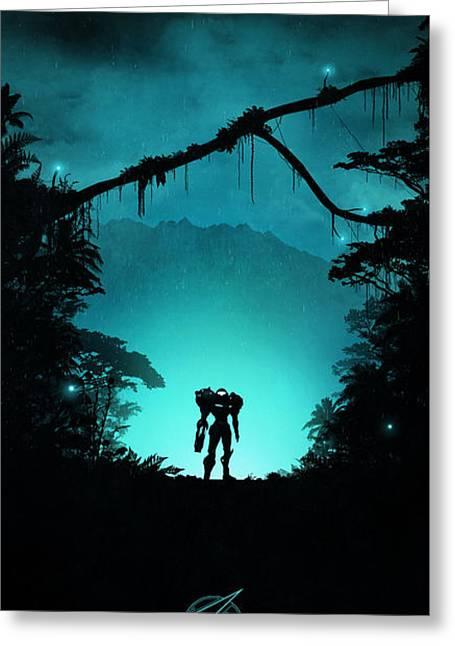Tallon Overworld Greeting Card by Colin Morella