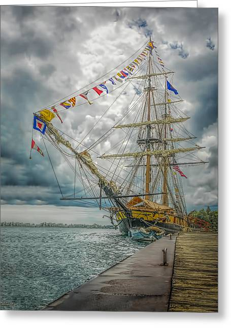 Tallship Niagara Greeting Card