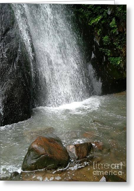 Tam Dao Falls  Greeting Card
