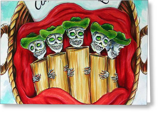 Tamales One Dollar Greeting Card