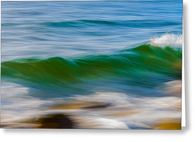 Taming The Waves Greeting Card