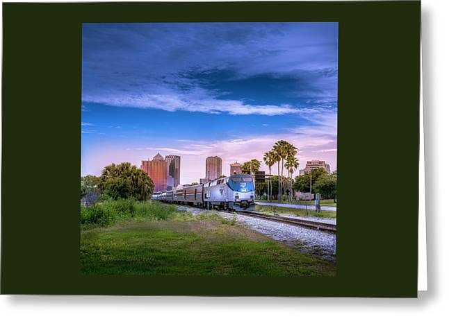 Tampa Departure Greeting Card