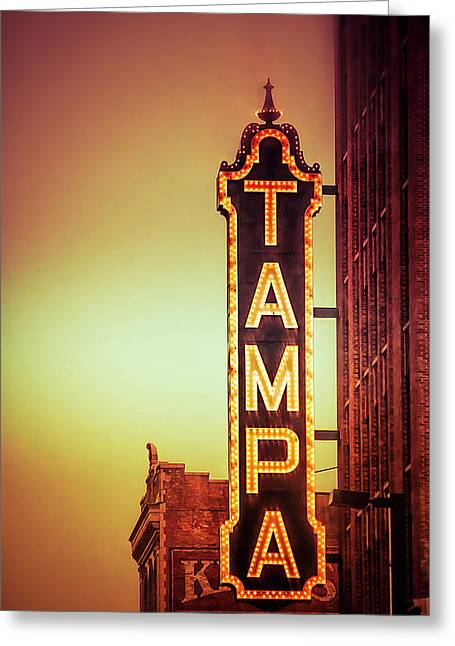 Tampa Theatre Greeting Card
