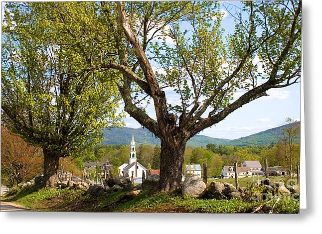 Tamworth, Nh Greeting Card by Larry Landolfi