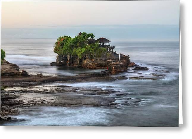 Tanah Lot - Bali Greeting Card