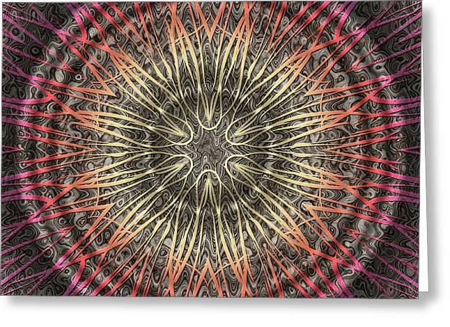 Tangendental Meditation Greeting Card