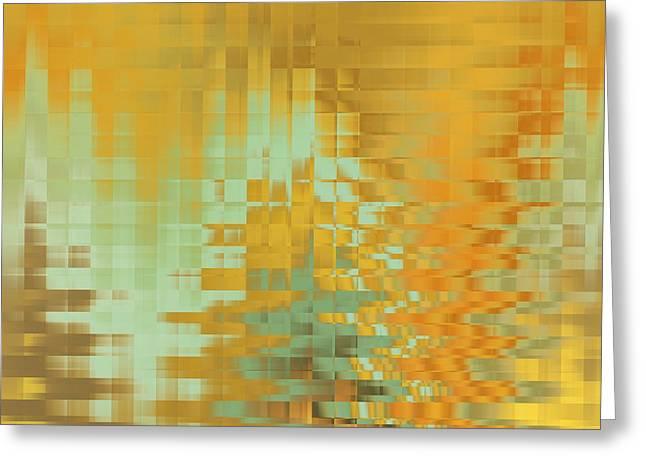 Tangerine Dream Greeting Card by Raymond Vango