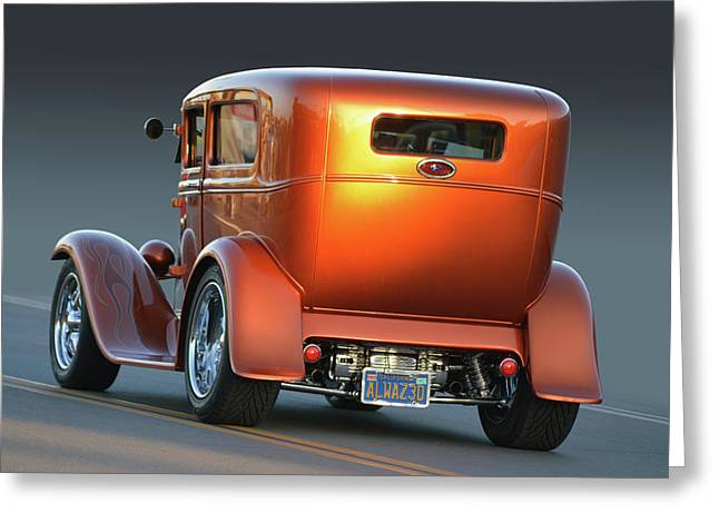 Greeting Card featuring the photograph Tangerine Tudor by Bill Dutting
