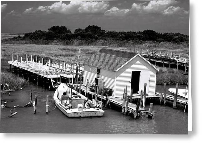 Tangier Island 2 Greeting Card by Alan Hausenflock