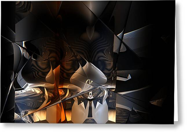 Greeting Card featuring the digital art Tangier by Vadim Epstein