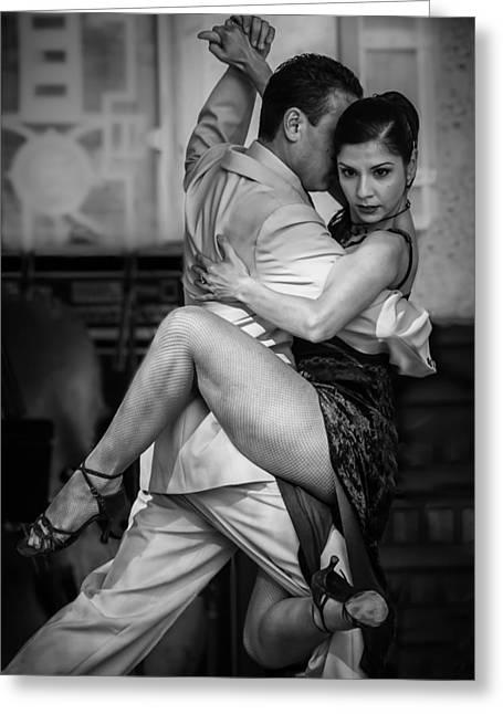 Tangled In Tango Greeting Card