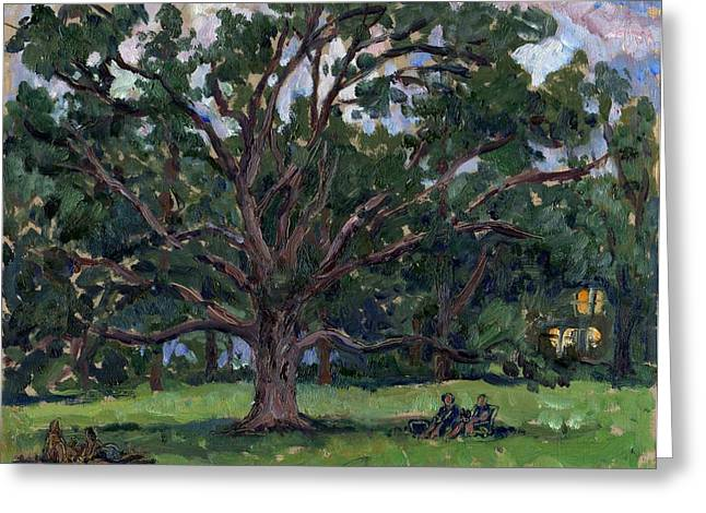 Tanglewood Tree Greeting Card by Thor Wickstrom