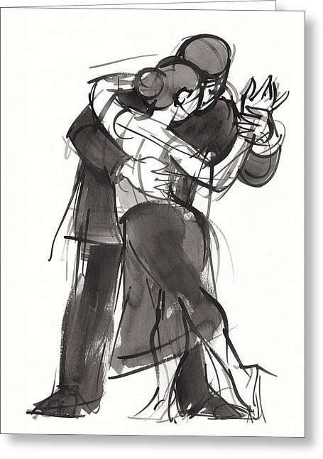 Tango 1 Greeting Card