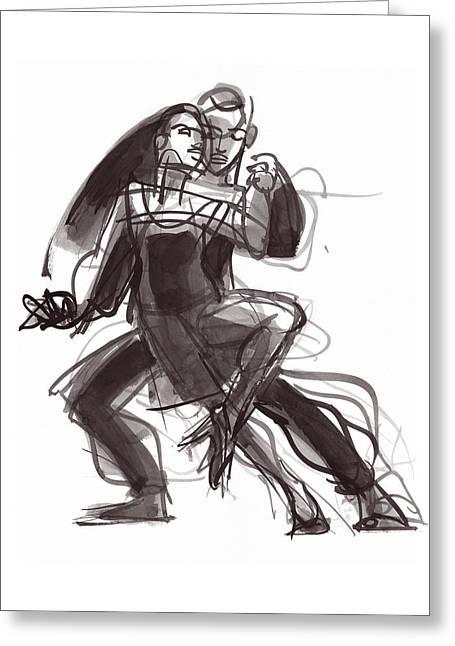 Tango #35 Greeting Card
