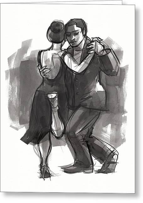 Tango 6 Greeting Card