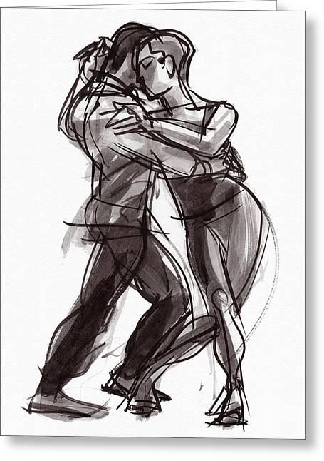 Tango #9 Greeting Card