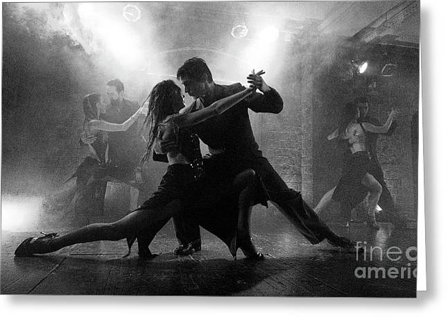 Tango Buenos Aires 1 Greeting Card by Bob Christopher
