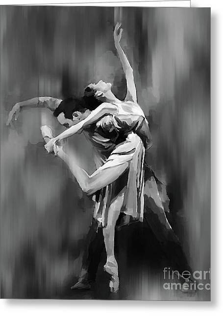Tango Dance 99051 Greeting Card by Gull G