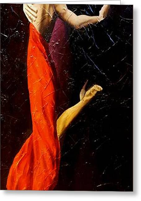 Tango Dancers #1 Greeting Card