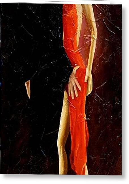 Tango Dancers #3 Greeting Card