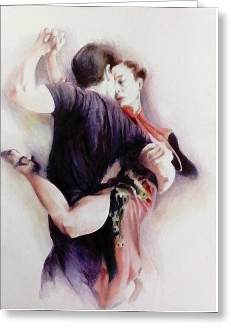 Tango Quartet 3/4 Greeting Card