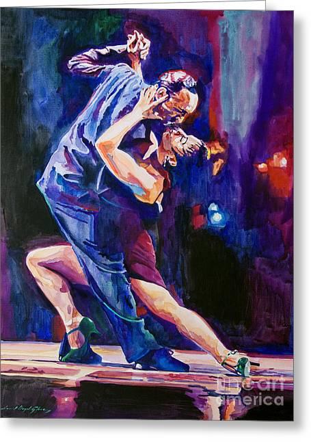 Tango Romantico Greeting Card