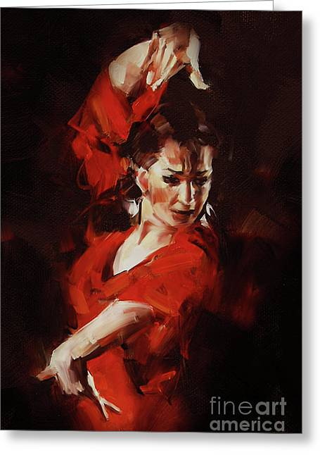 Tango Style  Greeting Card by Gull G