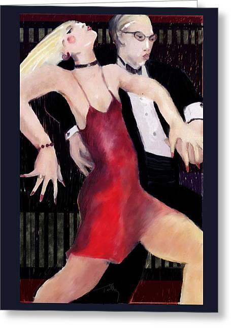 Tango Greeting Card