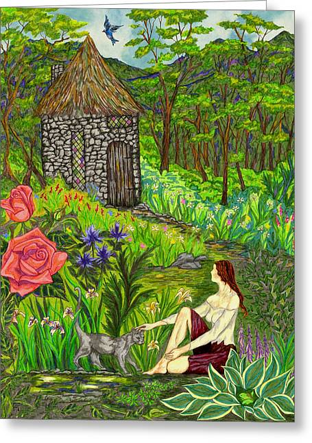 Tansel's Garden Greeting Card