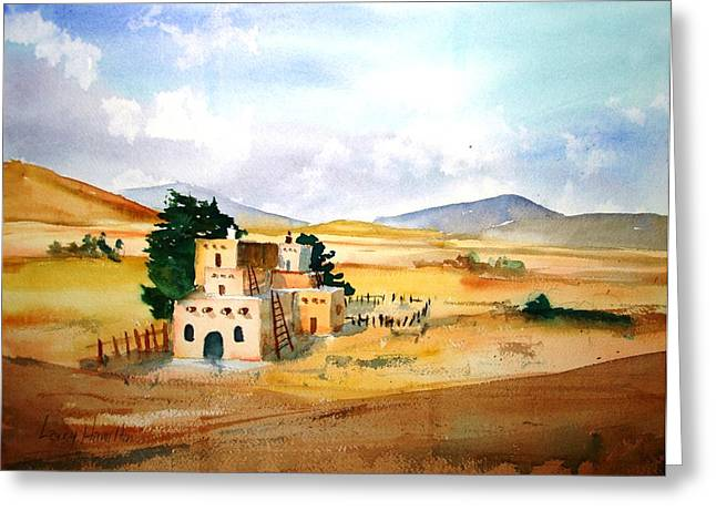 Taos Adobe Greeting Card