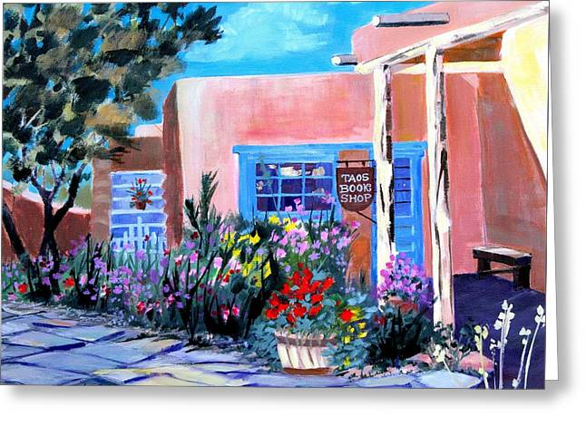 Taos Book Shop Greeting Card