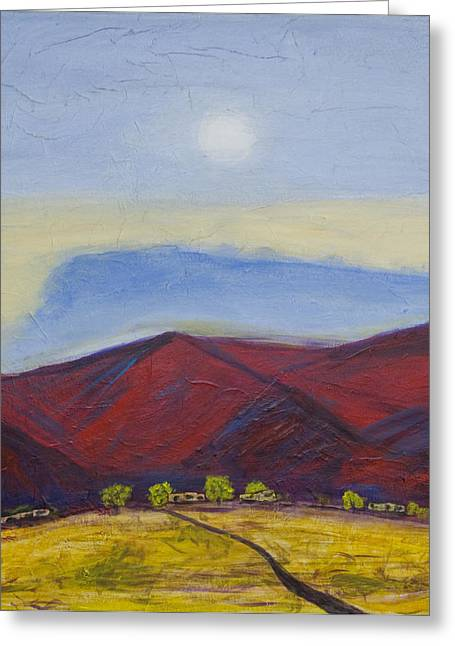 Taos Dream Greeting Card by John Hansen
