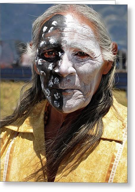 Taos Elder Greeting Card