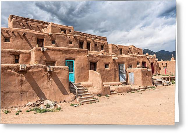 Taos Pueblo New Mexico Greeting Card