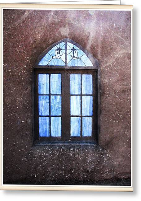 Taos, There's Something In The Light 4 Greeting Card