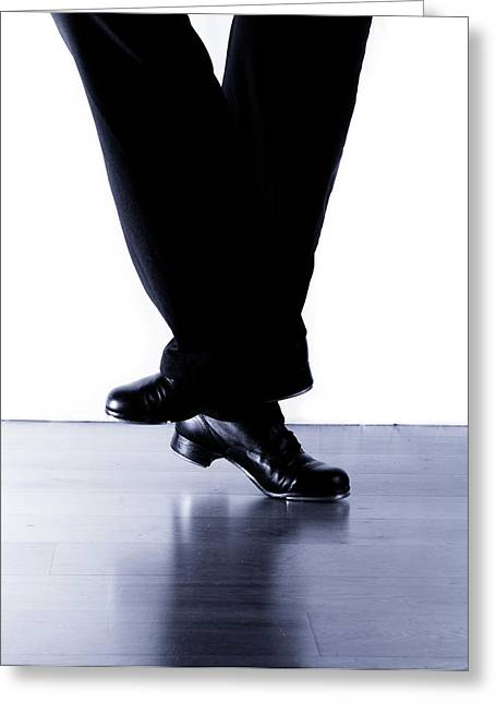Tap Dancers Greeting Cards - Tap Dance 2 Greeting Card by Scott Sawyer