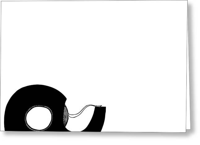 Tape Greeting Card