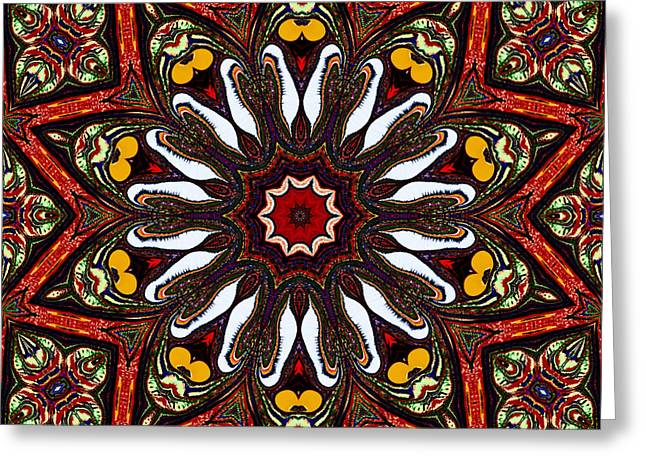 Tapestry Greeting Card by Natalie Holland