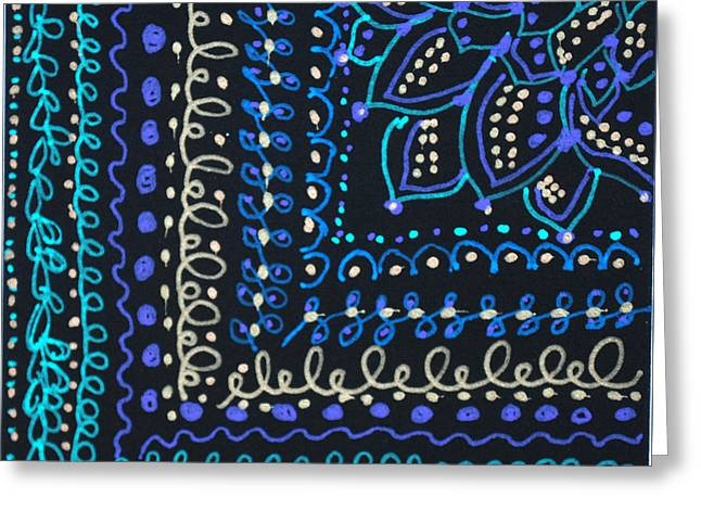Tapestry Greeting Card by Carole Brecht