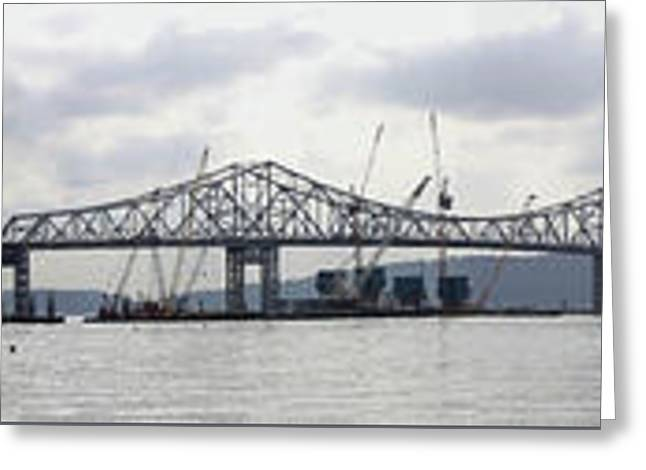 Tappan Zee Bridge From Tarrytown Greeting Card