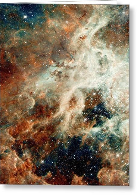 Tarantula Nebula Triptych 1 Greeting Card