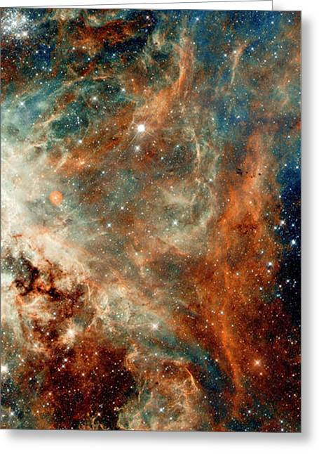 Tarantula Nebula Triptych 2 Greeting Card